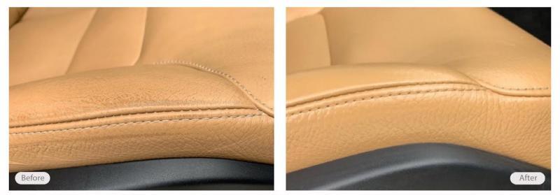 Vehicle seat repair and restoration