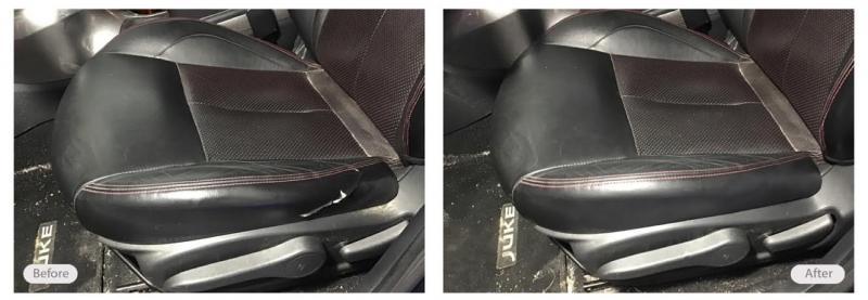 Vehicle seat bolster repair