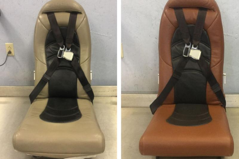 Aviation Leather Seats Restoration